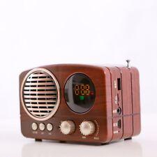 Bluetooth Radio Minianlage Radiospieler Mediaplayer Musikbox USB AUX FMTF