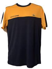 Genuine Men's Lacoste Sport Ultra Dry Pique T-shirt size Medium FR 4 BNWT