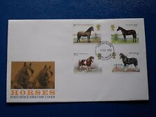 fdc  Horses (4),  unaddressed, 5th July 1978 .