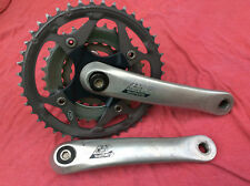 SHIMANO DEORE LX BICYCLE 170mm 44/32/22 TOOTH CRANKSET FC-M570 in good condition