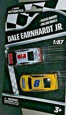 NASCAR AUTHENTICS 1/87 #8 DALE EARNHARDT HELLMANN'S/DALE JR.DOWNLOAD WAVE 1 NEW!