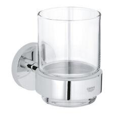 GROHE Glas mit Halter Essentials 40447chrom