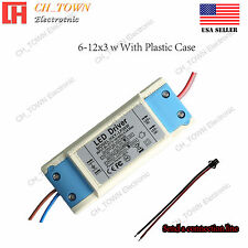 Constant Current LED Driver 30W 6-12X3W DC 20-42V 900mA Lamp Bulb Power Supply