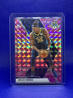 2019-20 Panini Mosaic Pink Camo Prizm Myles Turner Parallel #195 Indiana Pacers