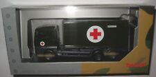 (h73) Herpa 746250 man TGA XL Wechselkoffer mit Sanitätscontainer