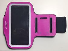 Jarv Pink Sport Running Armband Adjustable for iPhone 5/5s/6/6s Galaxy s3/s4/s5