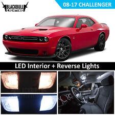 White Led Interior Reverse Light Package Kit For 08 17 Dodge Challenger 12 Pc