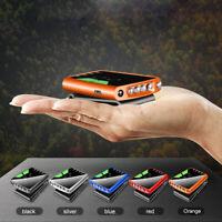 Rechargeable LED Clip-on Cap Hat Light USB Fishing Camp Hiking Sensory Headlamps