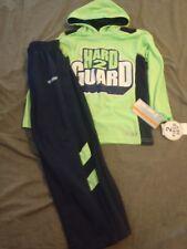 Bnwt Hind Boys Hoodie Set Pants Shirt Basketball Hard 2 Guard 5 6 Green Blue $26