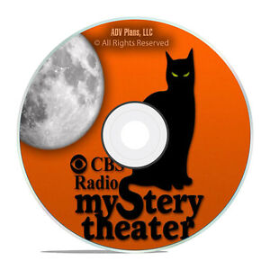 CBS RADIO MYSTERY THEATER, 1,517 Old Time Radio Episodes FULL RUN 2 DVDs mp3 G53