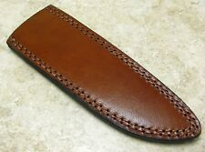 "Leather Sheath for Fixed Blade Traditional Style Knife up to 7 3/4"" blade"