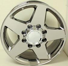 "2001-2010 Chevy Silverado Suburban 2500 3500 HD Chrome 20"" 8 Lug Wheels Rims"