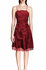 Knee Length Party Polyester Cocktail Dresses for Women