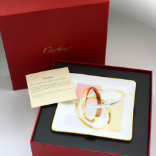 """Collectible Limoges for Cartier """"Trinity"""" Porcelain Mini Tray & Box - Crm00033"""