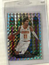 2019-20 Panini Mosaic Trae Young Stained Glass Atlanta Hawks Rare!