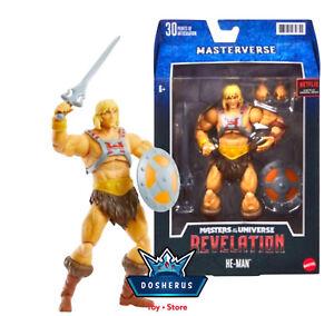 🔥Masters Of The Universe Masterverse HeMan Revelation Mattel Action Figure Toy