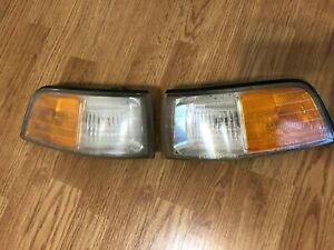 91-95 OEM Acura Legend Coupe front corner lights 041-3958 KA8 Honda signal 2dr