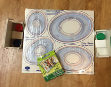 Creative Memories Scrapbooking Oval Custom Cutting System With Blades & Corners