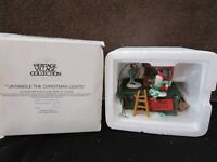 Dept 56 Untangle The Lights / Heritage Village Collection