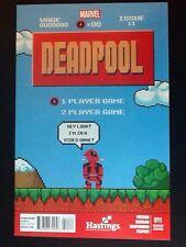 Deadpool #11 Hastings Variant Edition Comic 8-bit Super Mario Nintendo Marvel