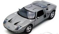 Ford GT - Silver, Classic Model Car 1/24 Motormax