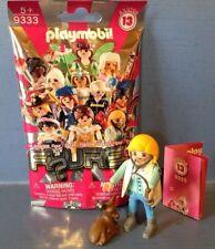 Playmobil ETHIC Pom-Pom Girl Lady Figure /& Pompons-Set 9333-Série 13 NEUF