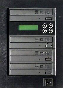NEW!! MediaStor #a05 1-3, 1 to 3 Target 24X DVD Burner Duplicator Replication