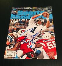 Cam Newton Autographed Sports Illustrated Magazine Carolina Panthers/ JSA