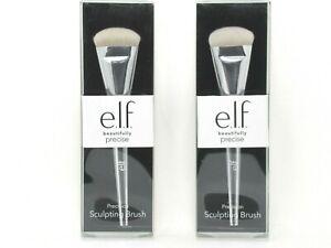"(2) e.l.f. Precision Sculpting Brush No 104 Makeup Tool 6"" Brush"