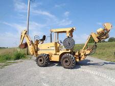 Vermeer V8550 Backhoe vibratory plow trencher cummins diesel engine 584 hours