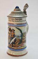 Alte Porzellan Zunftkurg, Bierkrug, Zimmermann
