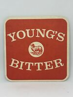 Vintage Young's Bitter  Beer Coaster Bar Decoration Man Cave