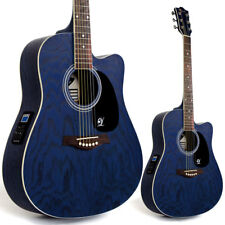 Lindo Willow Electro / Electric Acoustic Guitar with Preamp Tuner LCD + Gig Bag