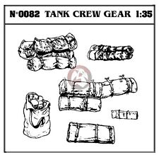 Verlinden 1/35 US Tank Crew Gear (Military Rucksacks & Rolled Sleeping Bags) 82