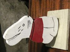 Wood Folk Art Cut out Rabbit