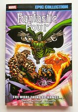 Fantastic Four The More Things Change Marvel Epic EC Graphic Novel Comic Book
