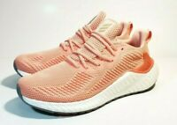 NEW Adidas Unisex  Alphaboost Running Shoes, Glow Pink/Cyber Metallic,