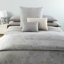 NIP Calvin Klein Regent Damask Clay Pressed Flowers Queen Duvet Cover Set 3pc