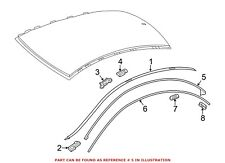 For Mercedes Genuine Roof Drip Molding Seal Right 1176730421