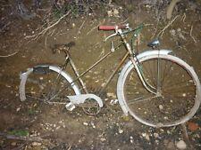 ancien vélo bicyclette SINGER sortie de grange 1930/40 old bike ville ( Terrot )