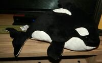 Scentsy Buddy ORY Black & White Plush Orca Whale - W/  Scent Pack