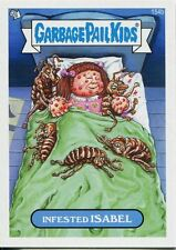 Garbage Pail Kids Mini Cards 2013 Base Card 154b Infested ISABEL