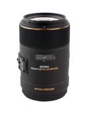 Obiettivi specialistici e moltiplicatori fissa/prima Sigma per fotografia e video