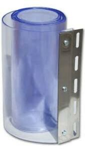 PVC Strip Curtain Door Strips 2 Meter Drop Coldroom Chiller Replacement Strip