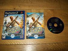 JEU PS2 PS3-MEDAL Of HONOR-SOLEIL LEVANT-Complet boîtier notice