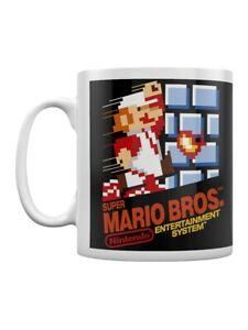 Nintendo NES Mug for Tea or Coffee Super Mario Bros. Cover Boxed White