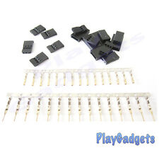Futaba Male & Female Connectors 3 Pin 5 Pairs Servo Battery Connector