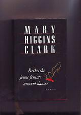Recherche jeune femme aimant danser  Mary Higgins Clark / france loisirs