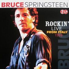 BRUCE SPRINGSTEEN Rockin' Live From Italy DOUBLE VINYL LP, IMPORT, NEW/SEALED