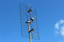 Caravan, RV or home UHF TV antenna and mounting kit - RPU4k